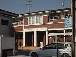 大阪府堺市北区南花田町の賃貸アパートの外観