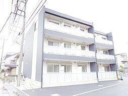 埼玉県富士見市鶴馬2丁目の賃貸アパートの外観