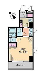 ロンシンリューズタワー[6階]の間取り
