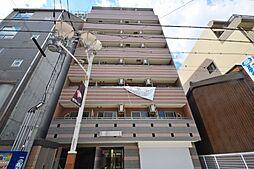 大阪府大阪市東住吉区駒川3丁目の賃貸マンションの外観