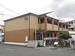 大阪府堺市中区深井水池町の賃貸アパートの外観