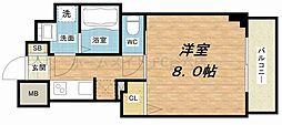 S-RESIDENCE谷町五丁目[12階]の間取り