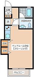 ベルドリームII[2階]の間取り