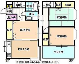 [一戸建] 長野県飯田市松尾代田 の賃貸【/】の間取り