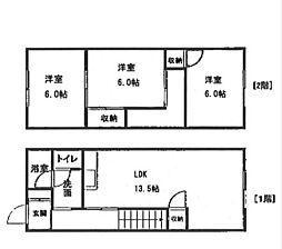 大同ガーデンハウス[106号室]の間取り