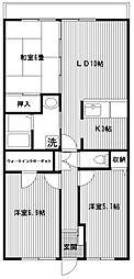 プライムステージ21[205号室]の間取り