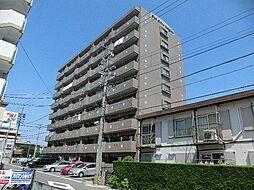 愛知県安城市今池町1丁目の賃貸マンションの外観