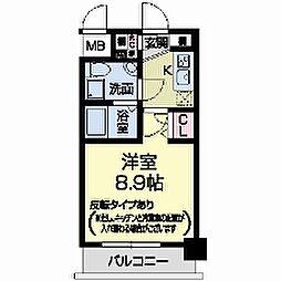 セレニテ甲子園I[0603号室]の間取り
