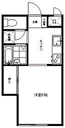 ドゥ・青葉[102号室号室]の間取り
