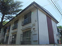 東京都中野区江古田1丁目の賃貸アパートの外観