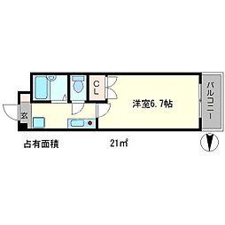 カーサブリーゼ[2階]の間取り