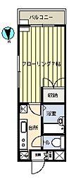 第21増尾ビル[302号室]の間取り