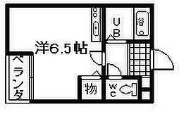 フォンターナ大宮[2階]の間取り