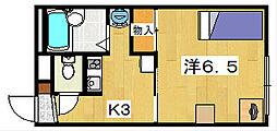 レオパレスMIYUKI[1階]の間取り