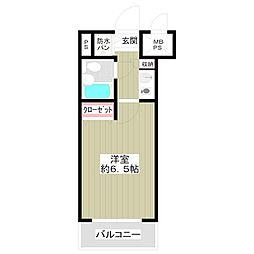 ライオンズマンション西川口第11[5階]の間取り