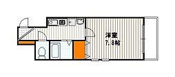 CASA祇園[605号室]の間取り