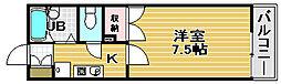 オリーブ羽衣[1階]の間取り