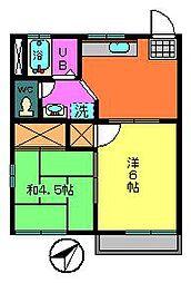 メゾンベール大楽寺[1階]の間取り