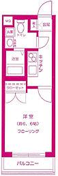ラ・シード横浜藤が丘[2階]の間取り