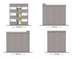 シティレジデンス鶴橋[302号室号室]の外観