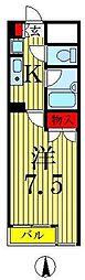 興和太平アパートメント[6階]の間取り
