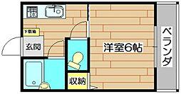 岩井ビル[3階]の間取り
