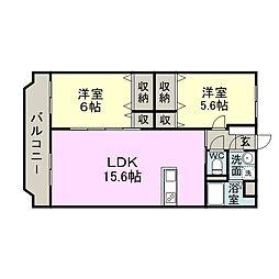 滝尾駅 6.2万円