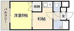 ベルビューレ江坂壱番館[307号室]の外観