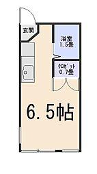 ホワイトプラザ玉村[1階]の間取り