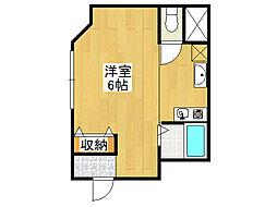 ガーデンビル[5階]の間取り
