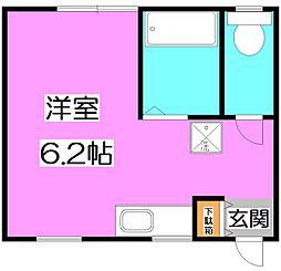 東京都練馬区大泉学園町4の賃貸アパートの間取り