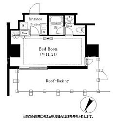 東京都港区白金台4丁目の賃貸マンションの間取り