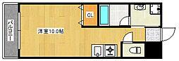 リード中央町[4階]の間取り