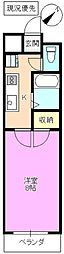 桜大宮マンション[2階]の間取り