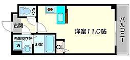 パーラム守口[4階]の間取り