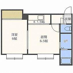 カーサ・シオン[1階]の間取り