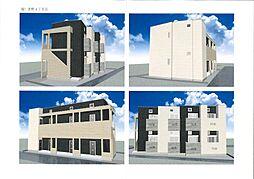 仮)麦野メゾネットアパート[1階]の外観