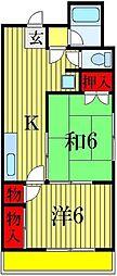 トーアイマンション[3階]の間取り