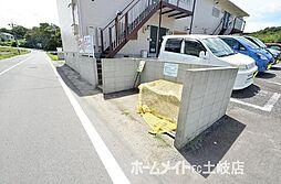 リディア赤坂 A[1階]の外観