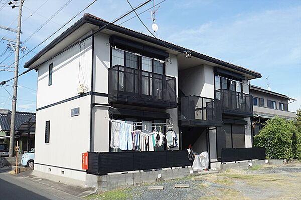 静岡県浜松市東区西ケ崎町の賃貸アパート