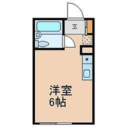 メゾンアン (メゾンアン)[1階]の間取り