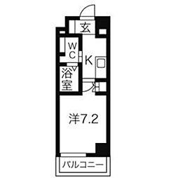 アーデン春岡[4階]の間取り