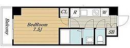 クレールブルー[3階]の間取り
