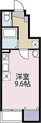 中村アパート(仮)[103 号室号室]の間取り