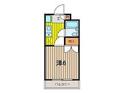 和田ビル12[3階]の間取り