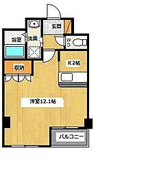 ロイヤルパレス渋谷[305号室号室]の間取り