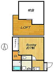 愛宕南アパートメント[202号室号室]の外観