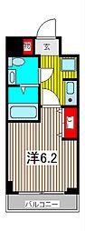 エルスタンザ浦和常盤[3階]の間取り