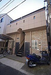 東京都文京区白山3丁目の賃貸アパートの外観