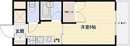 コートハウス中野[2階]の間取り